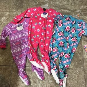 Other - 3 set footed pajamas